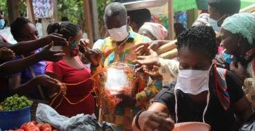 Hohoe Municipal Assembly donates Nose Masks at Central Market