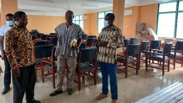 Hohoe Municipal Assembly supports re-roofing of Likpe SHS