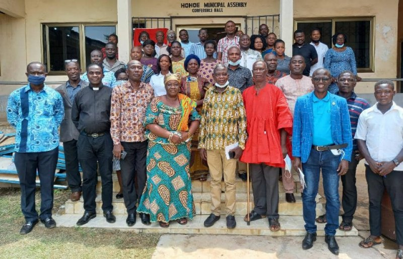 Workshop on Green Climate Fund and National Designation held in Hohoe By Edward Williams